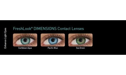 915c255dea ... Έγχρωμοι μηνιαίοι φακοί επαφής Alcon FreshLook Dimensions ( 6 φακοί )