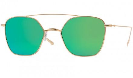 Γυαλιά ηλίου Spektre Dolce Vita Gold / Green Mirror