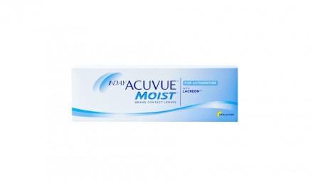 Ημερήσιοι Αστιγματικοί Φακοί Επαφής Johnson & Johnson Acuvue Moist 1 Day For Astigmatism (30 Φακοί)