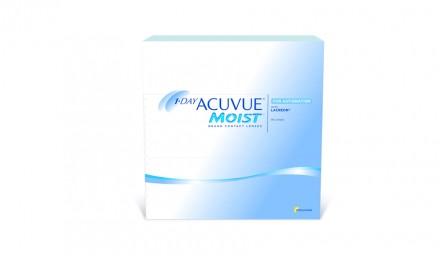 Ημερήσιοι Αστιγματικοί Φακοί Επαφής Johnson & Johnson Acuvue Moist 1 Day For Astigmatism (90 Φακοί)