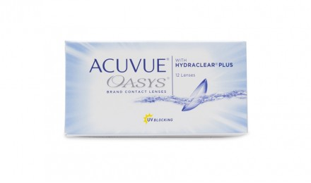 15 ήμεροι Φακοί Επαφής Johnson & Johnson Acuvue Oasys with Hydraclear Plus (12 Φακοί)