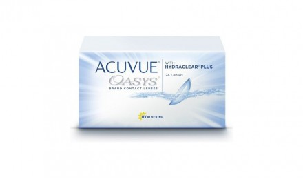15 ήμεροι Φακοί Επαφής Johnson & Johnson Acuvue Oasys with Hydraclear Plus (24 Φακοί)