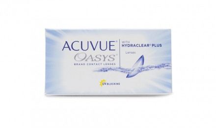 15 ήμεροι Φακοί Επαφής Johnson & Johnson Acuvue Oasys with Hydraclear Plus (6 Φακοί)