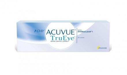 Ημερήσιοι Φακοί Επαφής Johnson & Johnson Acuvue 1 Day True Eye (30 Φακοί)