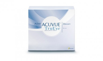 Ημερήσιοι Φακοί Επαφής Johnson & Johnson Acuvue 1 Day True Eye (90 Φακοί)