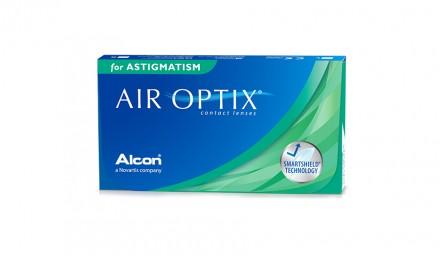 Αστιγματικοί Μηνιαίοι Φακοί Επαφής Alcon Air Optix Astigmatism (3 Φακοί)