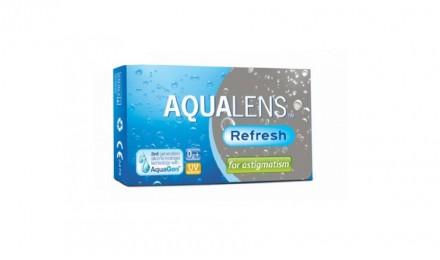 Αστιγματικοί Μηνιαίοι Φακοί Επαφής Meyers Vision Aqualens Refresh for Astigmatism (3 Φακοί)
