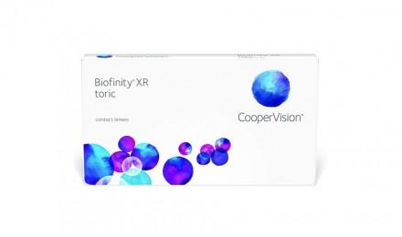 Υψηλού Αστιγματισμού Μηνιαίοι Φακοί Επαφής Cooper Vision Biofinity Toric XR(3 Φακοί)