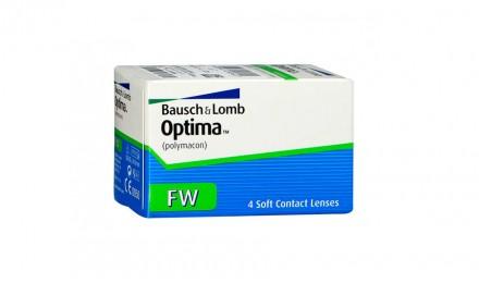 Τριμηνιαίοι Φακοί Επαφής Bausch & Lomb Optima FW (4 Φακοί)
