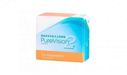 Αστιγματικοί Μηνιαίοι Φακοί Επαφής Bausch & Lomb PureVision 2HD for Astigmatism (6 Φακοί)
