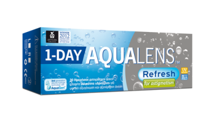 Ημερήσιοι Αστιγματικοί Φακοί Επαφής Meyers Vision Aqualens Refresh For Astigmatism 1 Day (30 Φακοί)