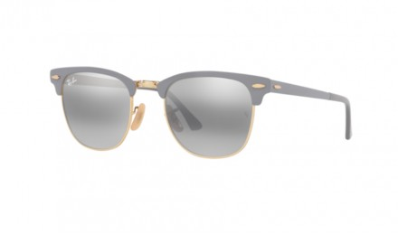 Γυαλιά ηλίου Ray Ban RB 3716 Clubmaster Metal